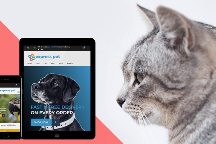 Rebranding and a new website for Express Pet Supplies
